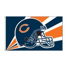 Chicago Bears Helmet 3'x 5' NFL Flag