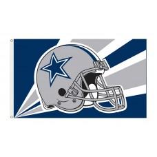 Dallas Cowboys Helmet 3'x 5' NFL Flag
