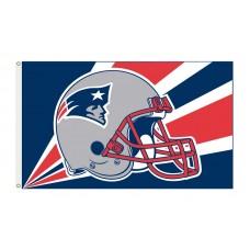 New England Patriots Helmet 3'x 5' NFL Flag