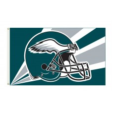 Philadelphia Eagles Helmet 3'x 5' NFL Flag