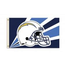 San Diego Chargers Helmet 3'x 5' NFL Flag