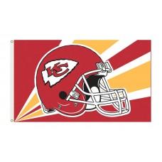 Kansas City Chiefs Helmet 3'x 5' NFL Flag
