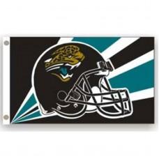 Jacksonville Jaguars Helmet 3'x 5' NFL Flag