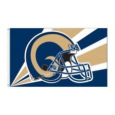 St. Louis Rams Helmet 3'x 5' NFL Flag