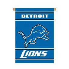 Detroit Lions Outside House Banner