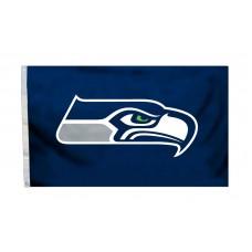 Seattle Seahawks Logo 3'x 5' NFL Flag