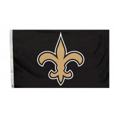 New Orleans Saints Logo 3'x 5' NFL Flag