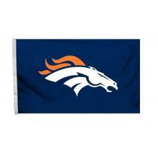 Denver Broncos Logo 3'x 5' Flag