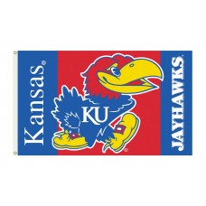 Kansas Jayhawks 3'x 5' College Flag