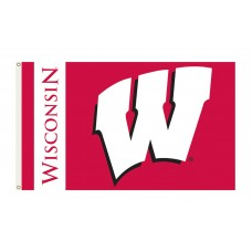 Wisconsin Badgers 3'x 5' College Flag