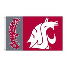 Washington State Cougars 3'x 5' Premium Flag