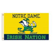 Notre Dame Irish Nation 3'x 5' College Flag