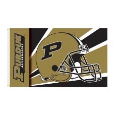 Purdue Boilermakers Helmet 3'x 5' Flag