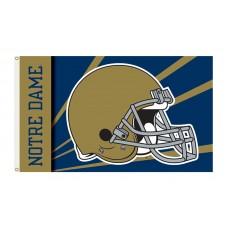 Notre Dame Fighting Irish Helmet 3'x 5' Flag