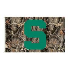 Michigan State Spartans Realtree Camo 3'x 5' Flag