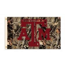 Texas A&M Aggies Realtree Camo 3'x 5' Flag