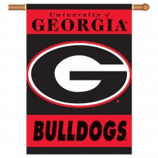 Georgia Bulldogs Outside House Banner