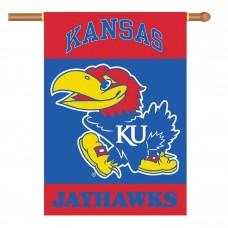 Kansas Jayhawks NCAA Double Sided Banner