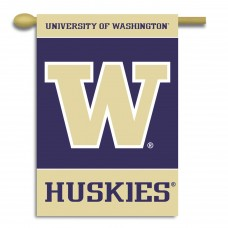 Washington Huskies Double Sided Banner