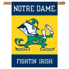 Notre Dame Fighting Irish Double Sided Banner