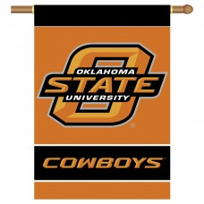 Oklahoma State Cowboys NCAA Double Sided Banner