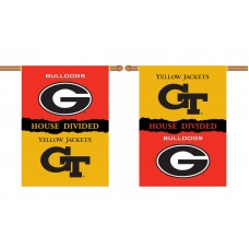 Georgia Bulldogs-Georgia Tech House Divided Banner