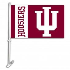 Indiana Hoosiers NCAA Double Sided Car Flag