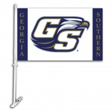 Georgia Southern Eagles Two Sided Car Flag