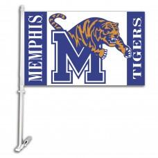 Memphis Tigers NCAA Double Sided Car Flag