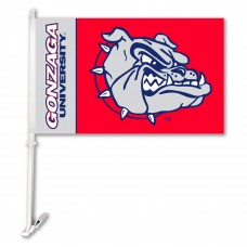 Gonzaga Bulldogs Two Sided Car Flag