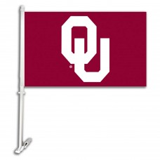 Oklahoma Sooners 11-inch by 18-inch Two Sided Car Flag