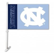 North Carolina Tar Heels NCAA Double Sided Car Flag