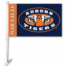 Auburn Tigers Mascot Two Sided Car Flags