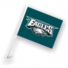 Philadelphia Eagles Two Sided Car Flag