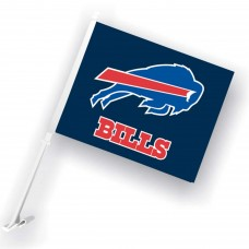 Buffalo Bills Two Sided Car Flag