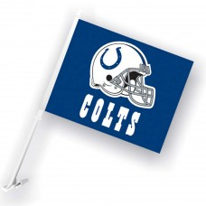 Indianapolis Colts Two Sided Car Flag
