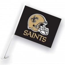 New Orleans Saints Two Sided Car Flag