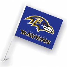Baltimore Ravens Two Sided Car Flag