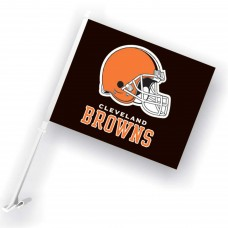 Cleveland Browns Two Sided Car Flag