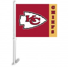 Kansas City Chiefs Two Sided Car Flag