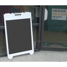 Poly Leaner Sidewalk Sign with Acrylic  Insert