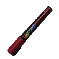 "1/4"" Chisel Tip Neon Liquid Chalk Marker - Brick Red"