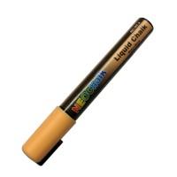 """1/4"""" Chisel Tip Neon Liquid Chalk Marker - Peach"""
