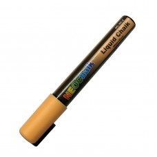 "1/4"" Chisel Tip Earth Tone Liquid Chalk Marker - Peach"