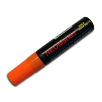 "1/2"" Wide Tip Orange Waterproof Sign & Art Marker Pens"