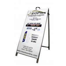 "48"" Aluminum A-Frame - Digital Color Posters"