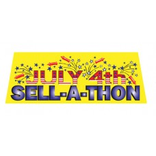 Sell-A-Thon Car Window Banner