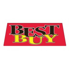 BEST BUY Car Windshield Banner