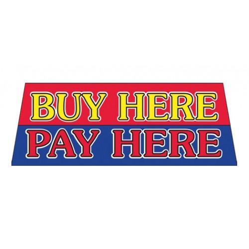 Buy here pay here vinyl windshield banner for Buy vinyl windows online