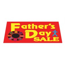 Father's Day Sale Car Windshield Banner